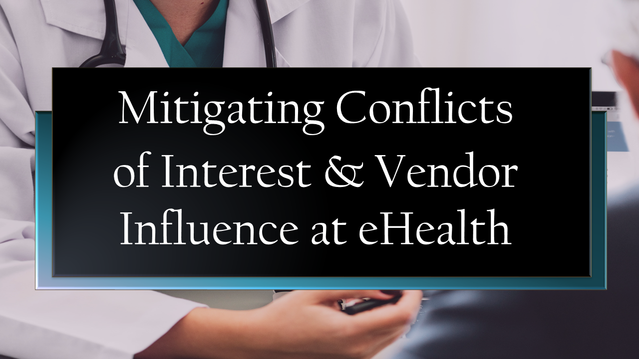 2019 Report–Volume 1: Provincial Auditor Scrutinizes eHealth's Code of Conduct and Conflict of Interest Policies